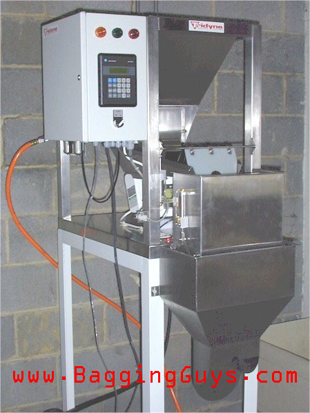 Entry Level Coffee Bagging Equipment Weighing Filling